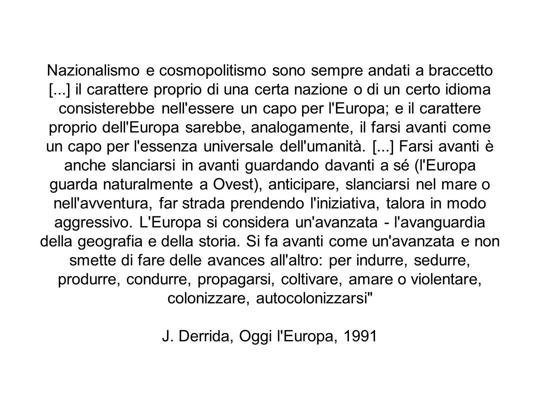 Nazionalismo e cosmopolitismo sono sempre andati a braccetto [